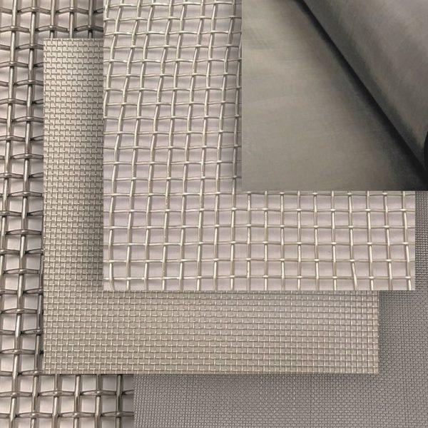 Tela para filtros e peneiras de aço inox com epóxi