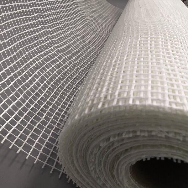 Rolo da tela de para estuque de fibra de vidro