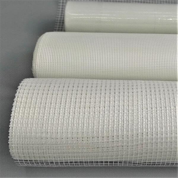 Rolos de tela de fibra de vidro para reforço