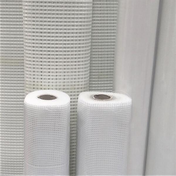 Tela de fibra de vidro para reforço de mosaicos